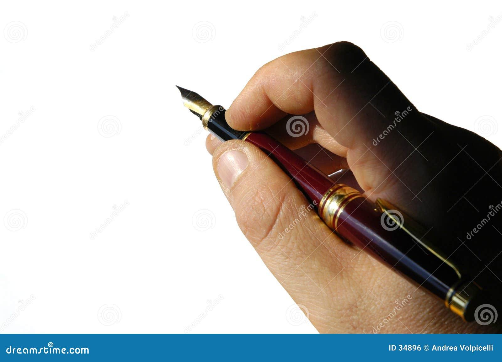 Springbrunnen hands pennan