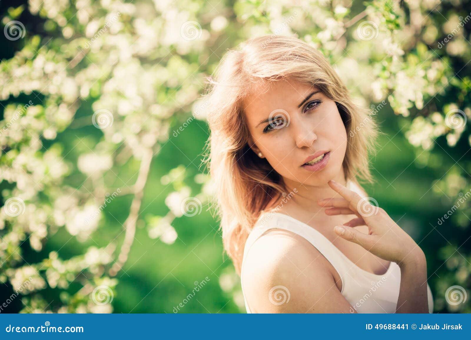 Springtime portrait