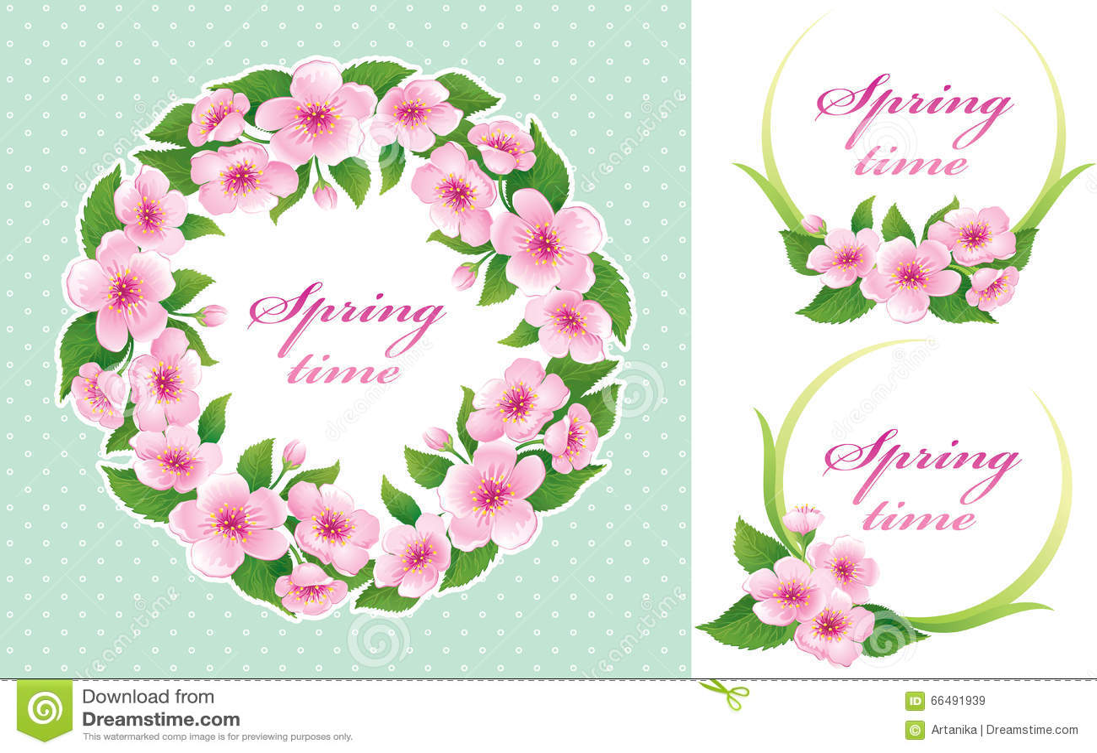 Springtime set