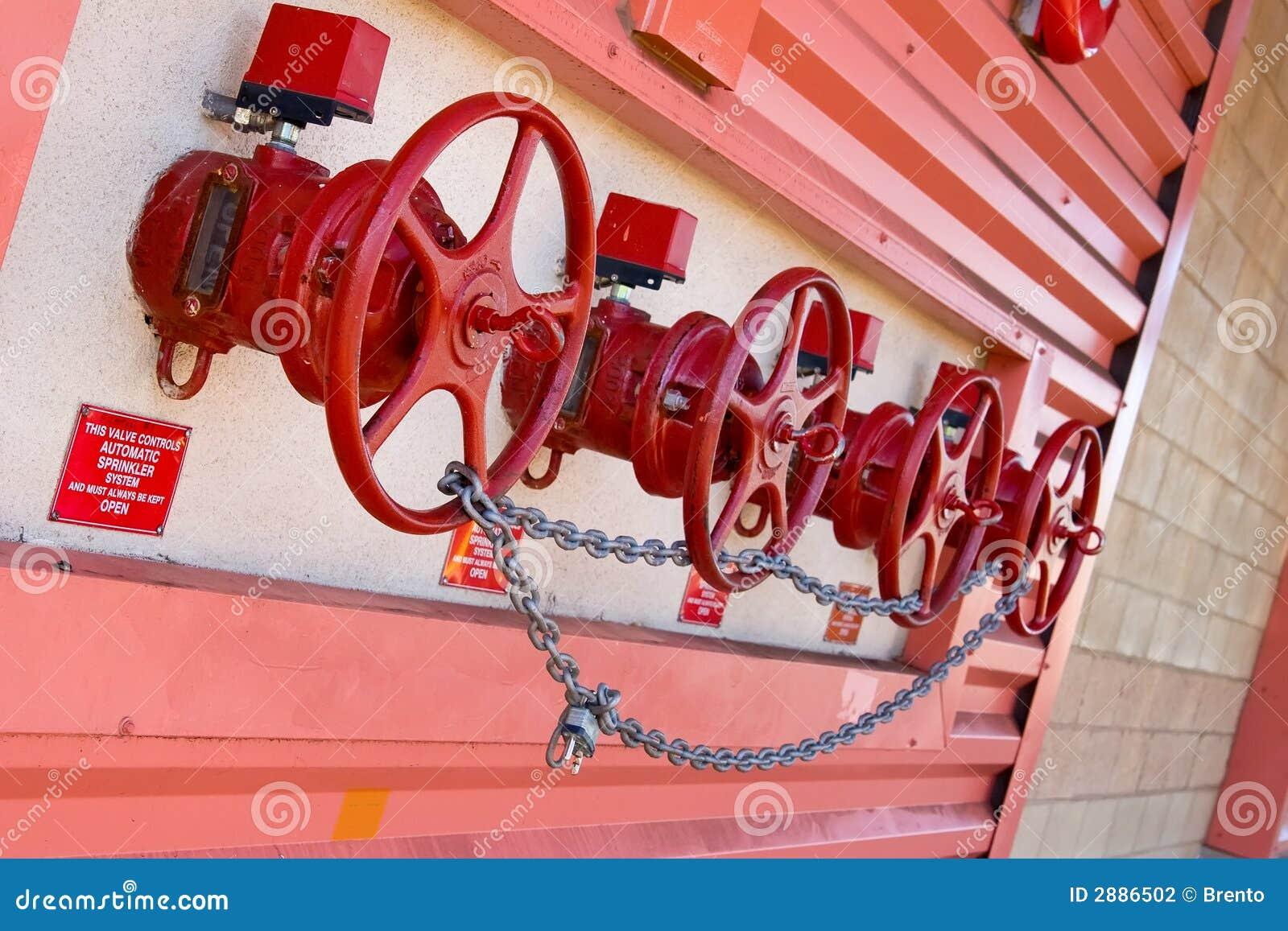 Stock Photography Sprinkler Valves Image2886502