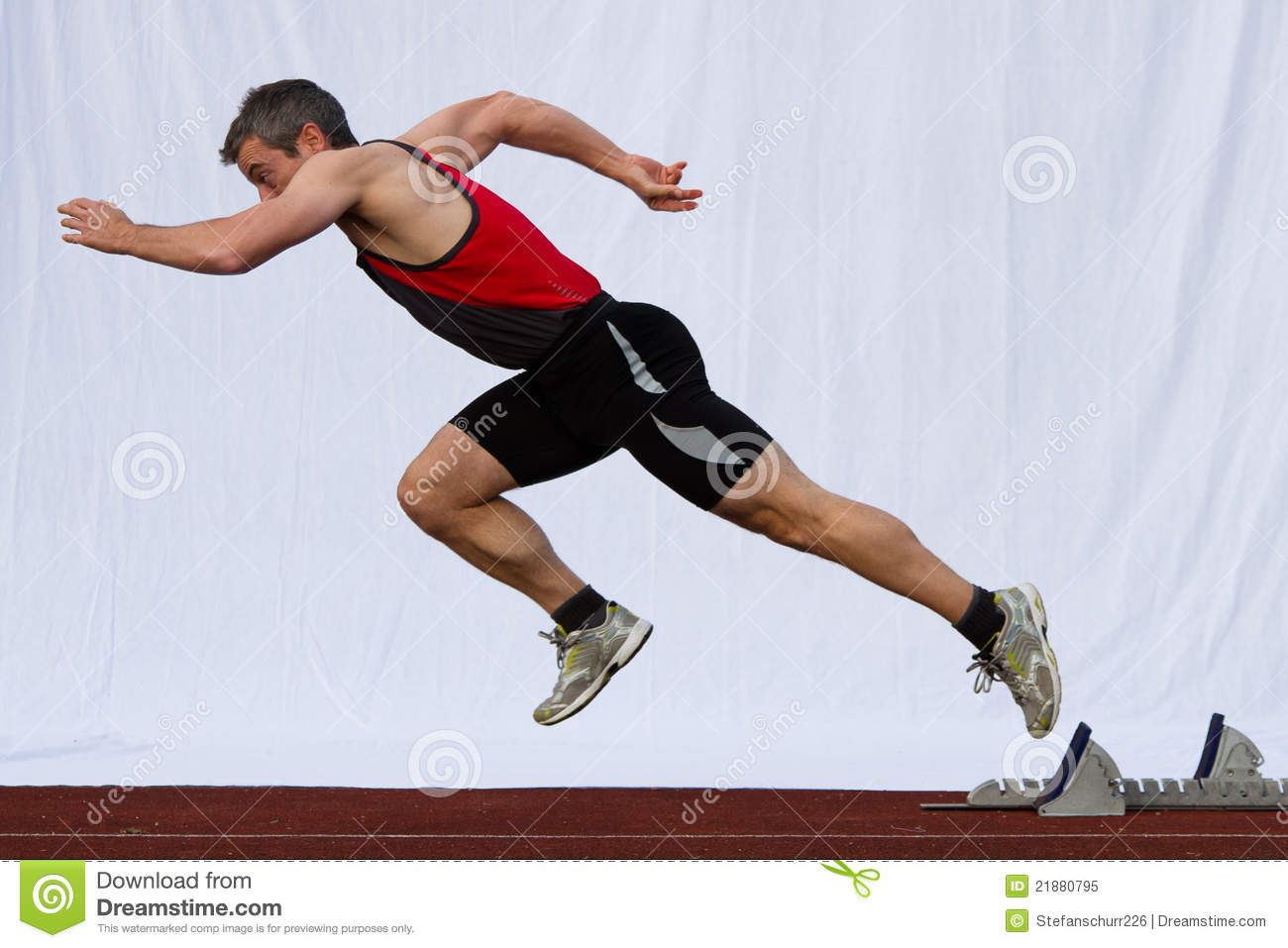 Sprint Start Royalty Free Stock Photo - Image: 21880795