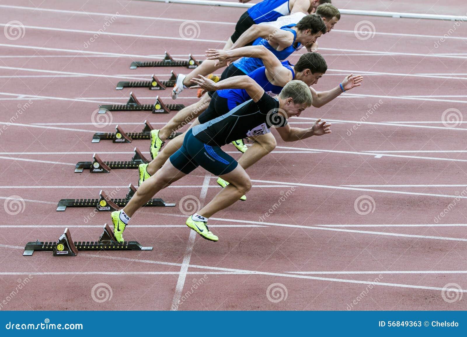Sprint Start Editorial Photo
