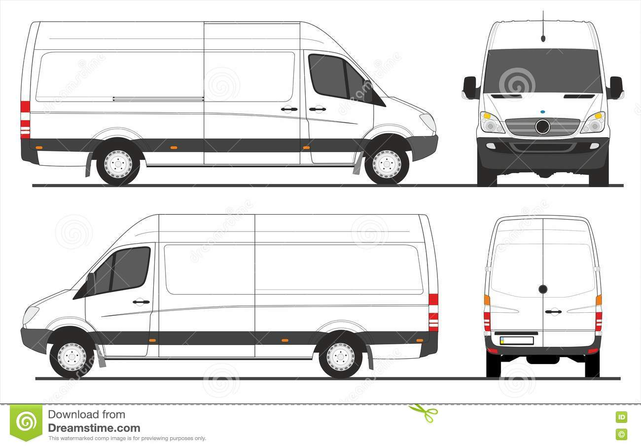 Drawing Van Conversion Mercedes Sprinter