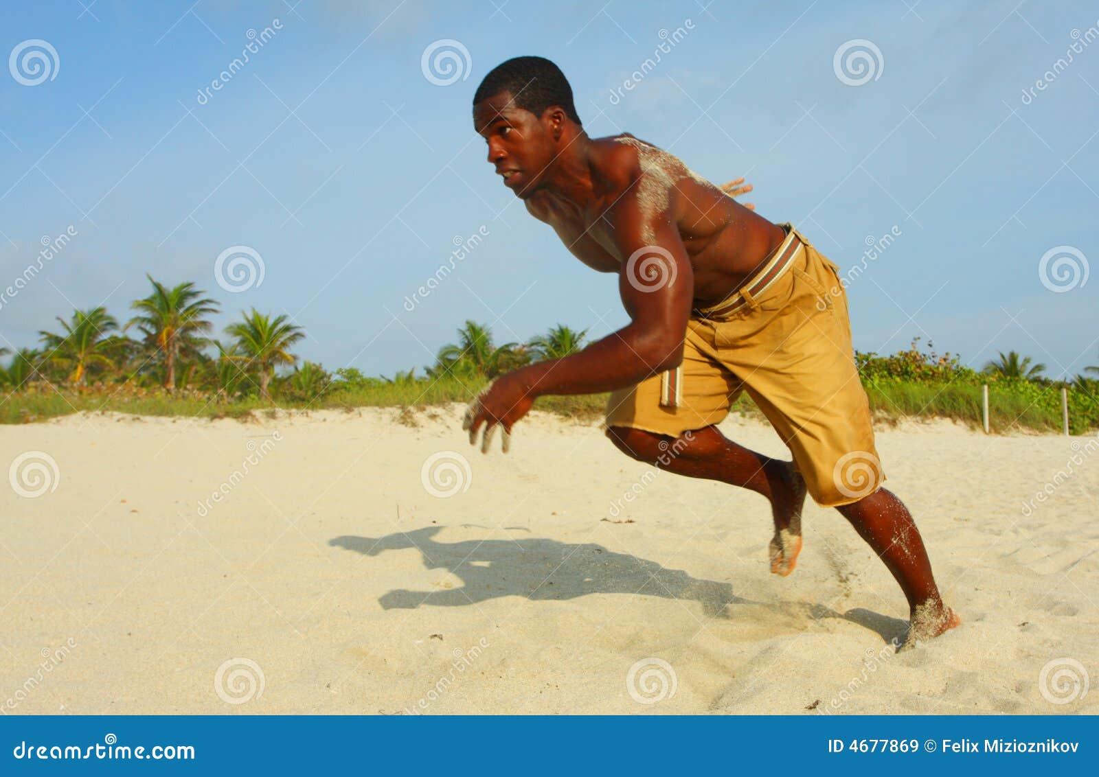 Sprinting na praia