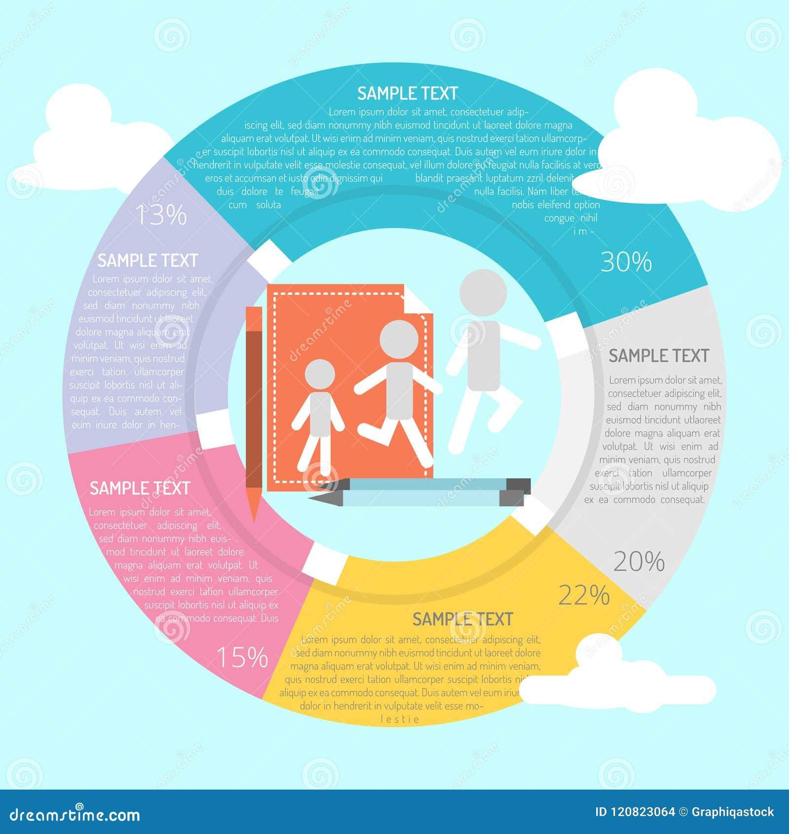sprites maker infographic stock vector illustration of data 120823064
