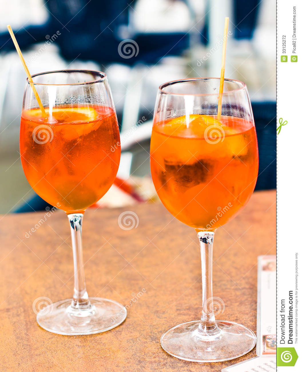 spritz aperitif stock photography image 33125272. Black Bedroom Furniture Sets. Home Design Ideas