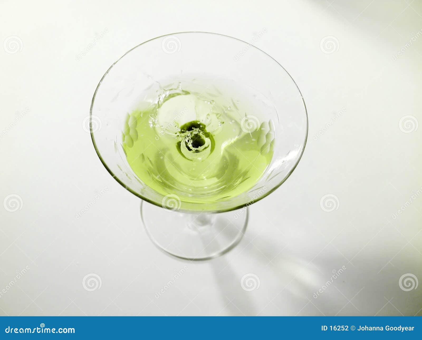 Spritzen der Olive