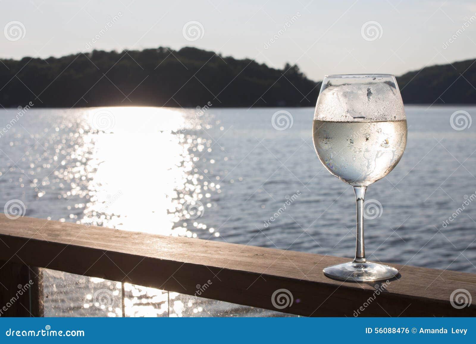 Spritzer do vinho branco