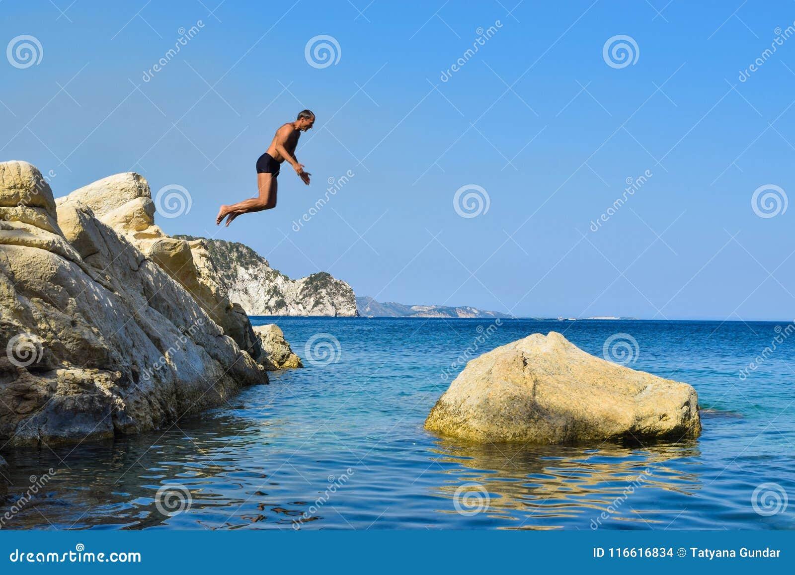 Sprong in het overzees
