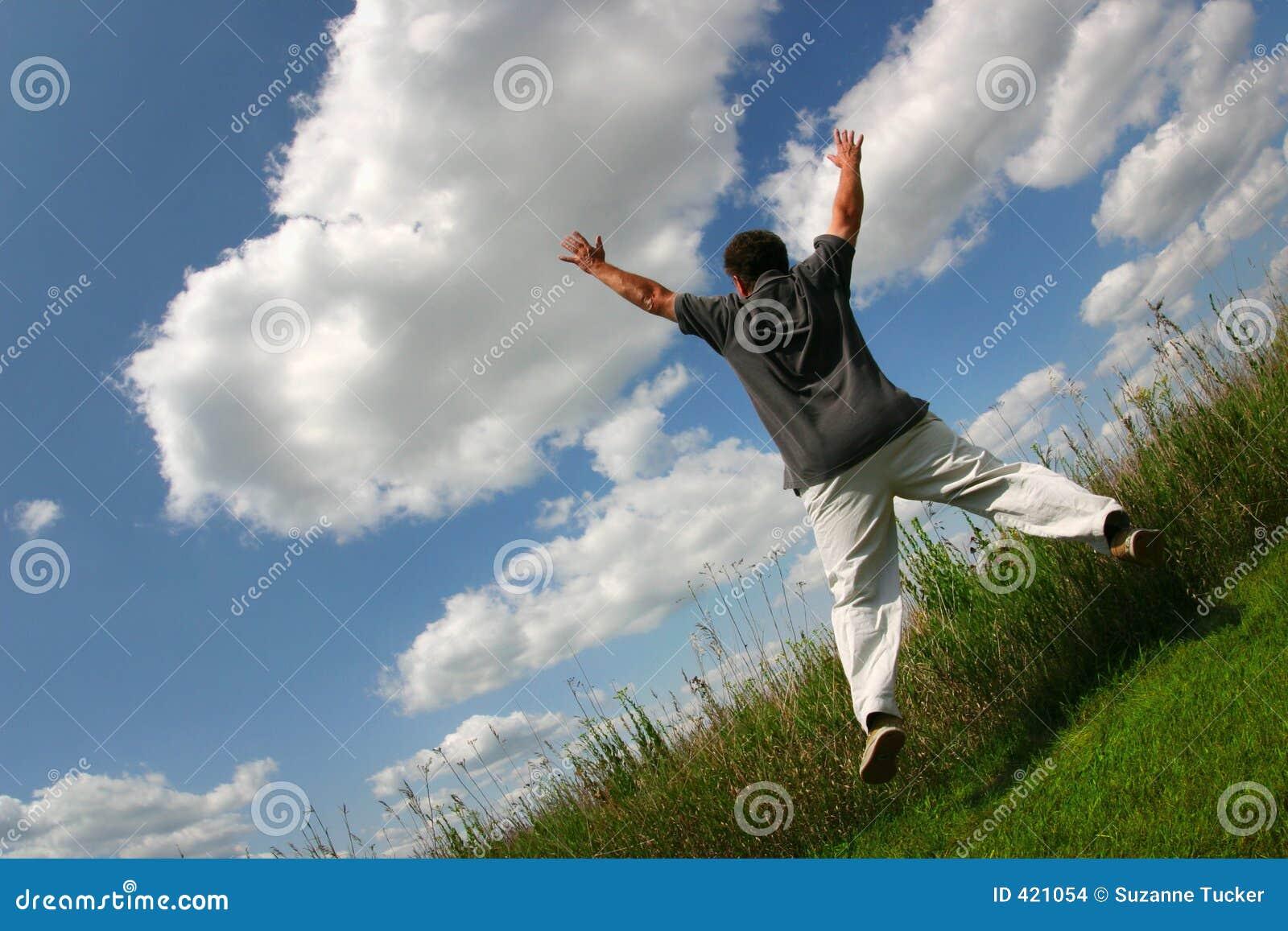 Sprong voor vreugde