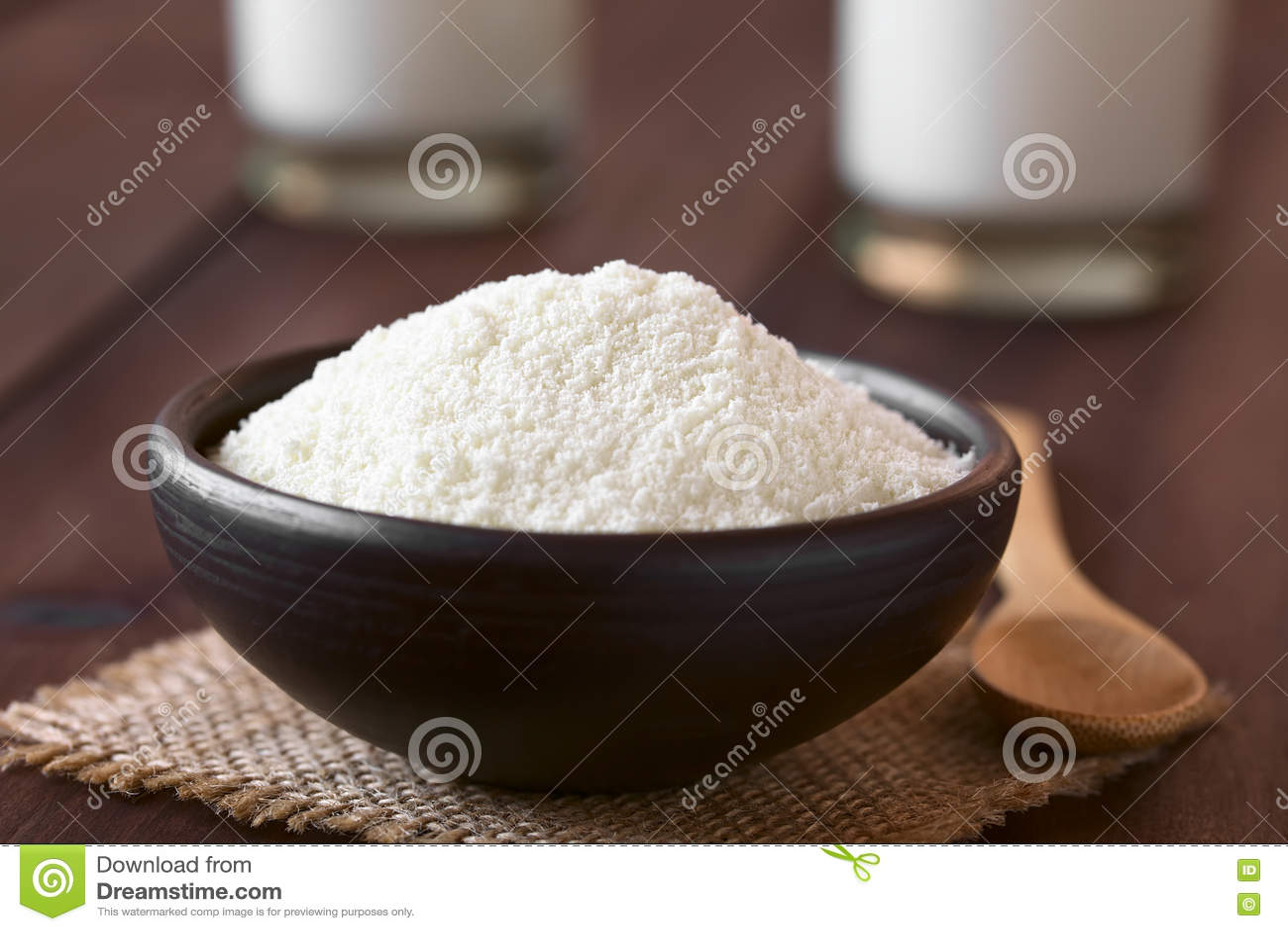Sproszkowany lub Wysuszony mleko