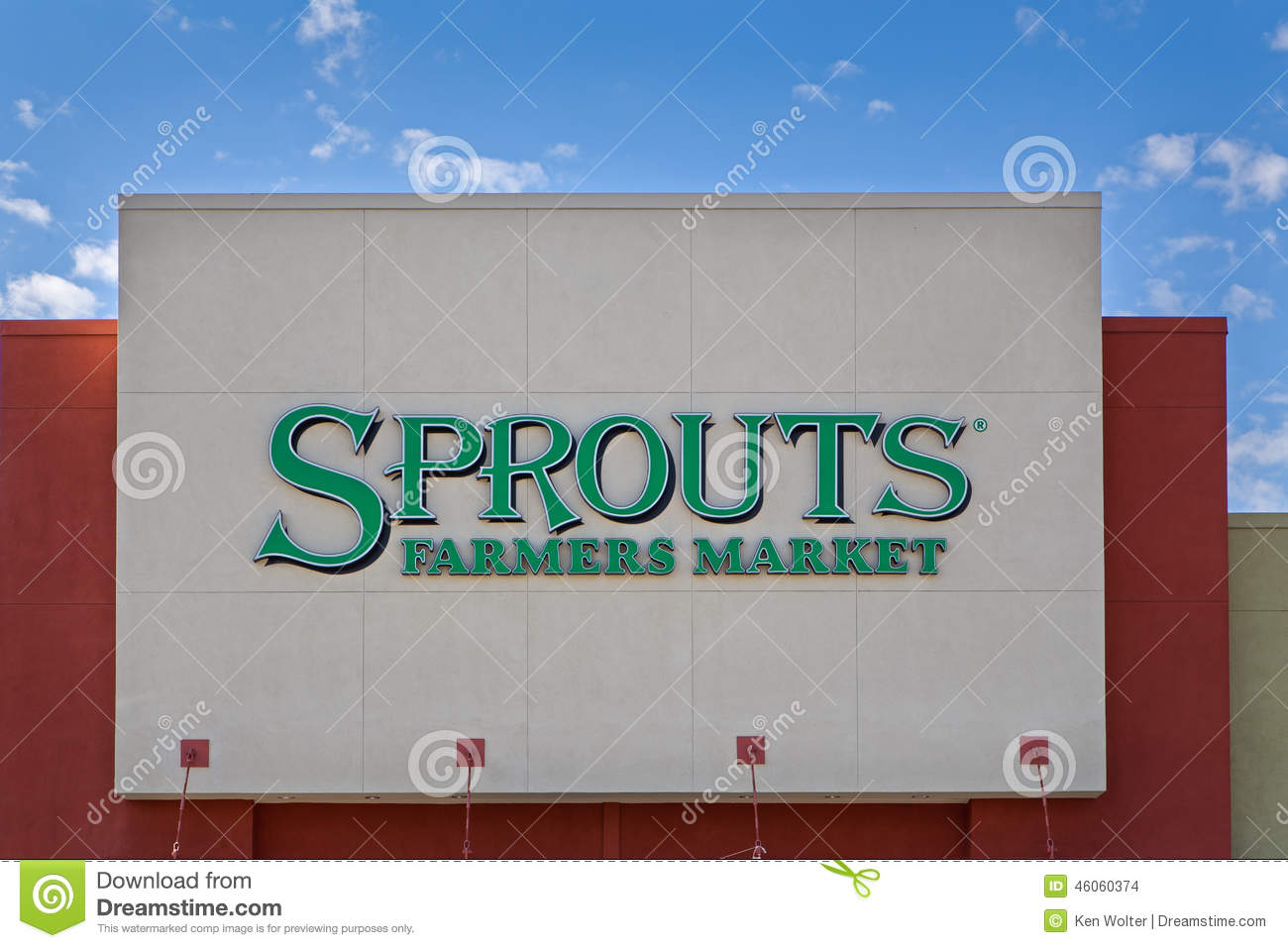 Sprouts Farmers Market Exterior Editorial Stock Image