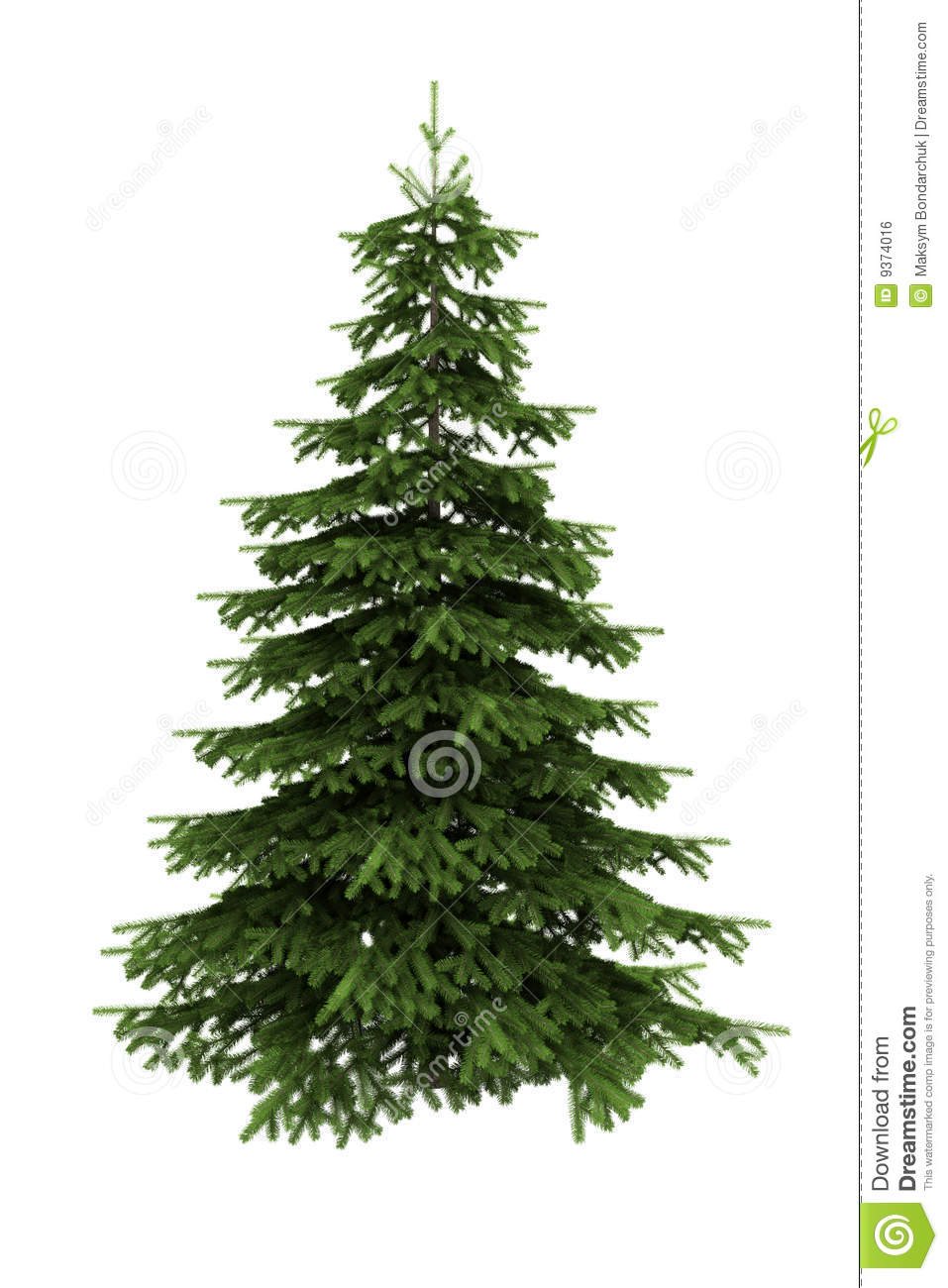 9 White Christmas Tree