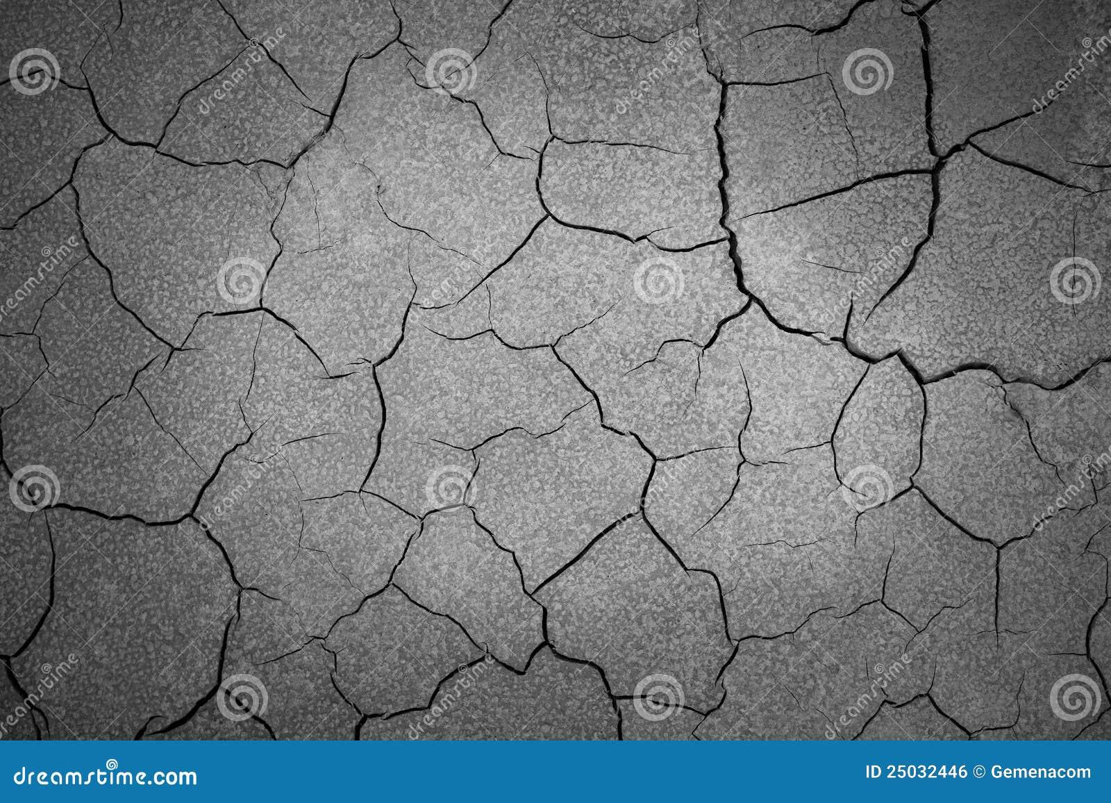 Sprucken jordning