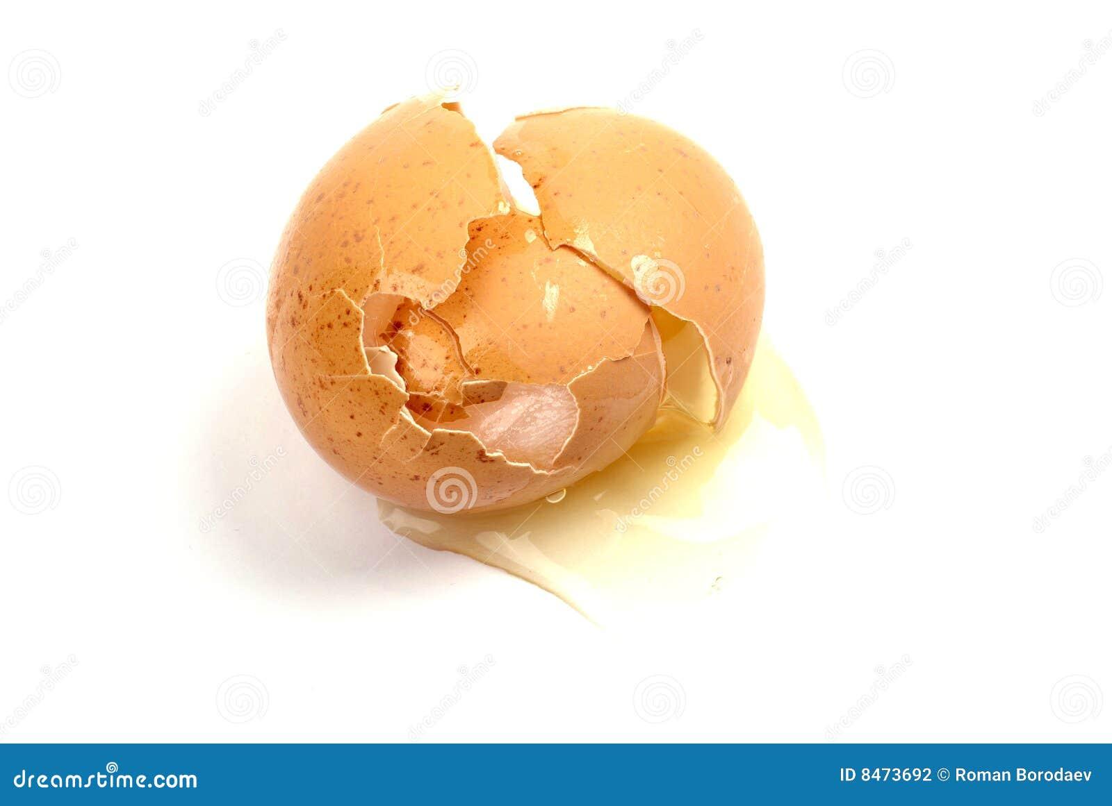 Sprucket ägg