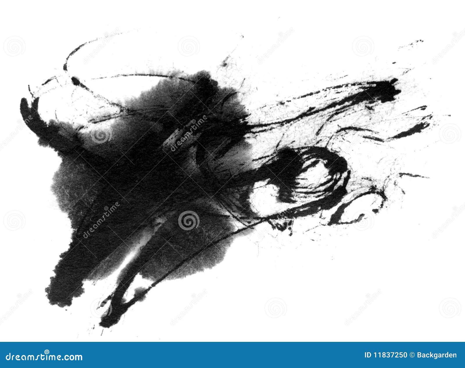 Spruzzata dell inchiostro