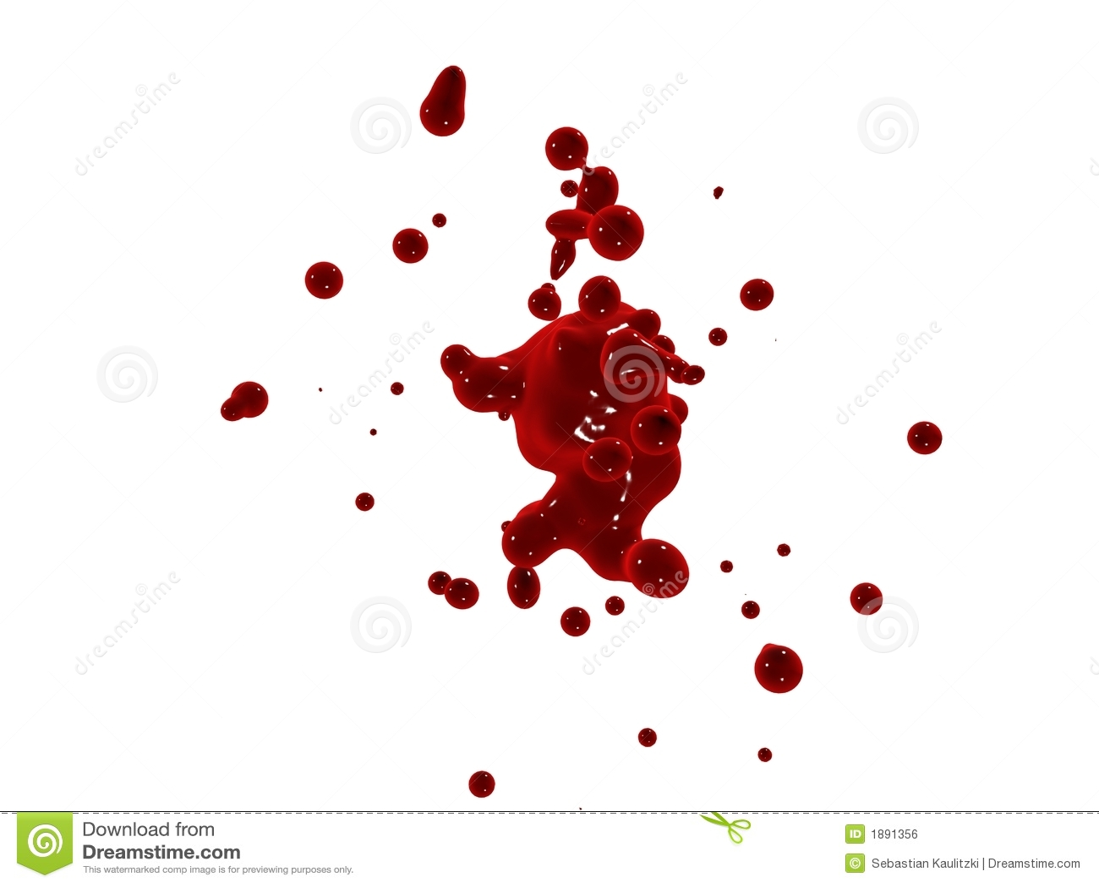 Spruzzata rossa