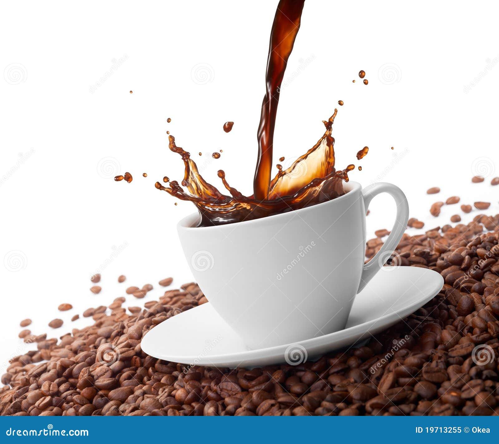 Spruzzatura del caffè