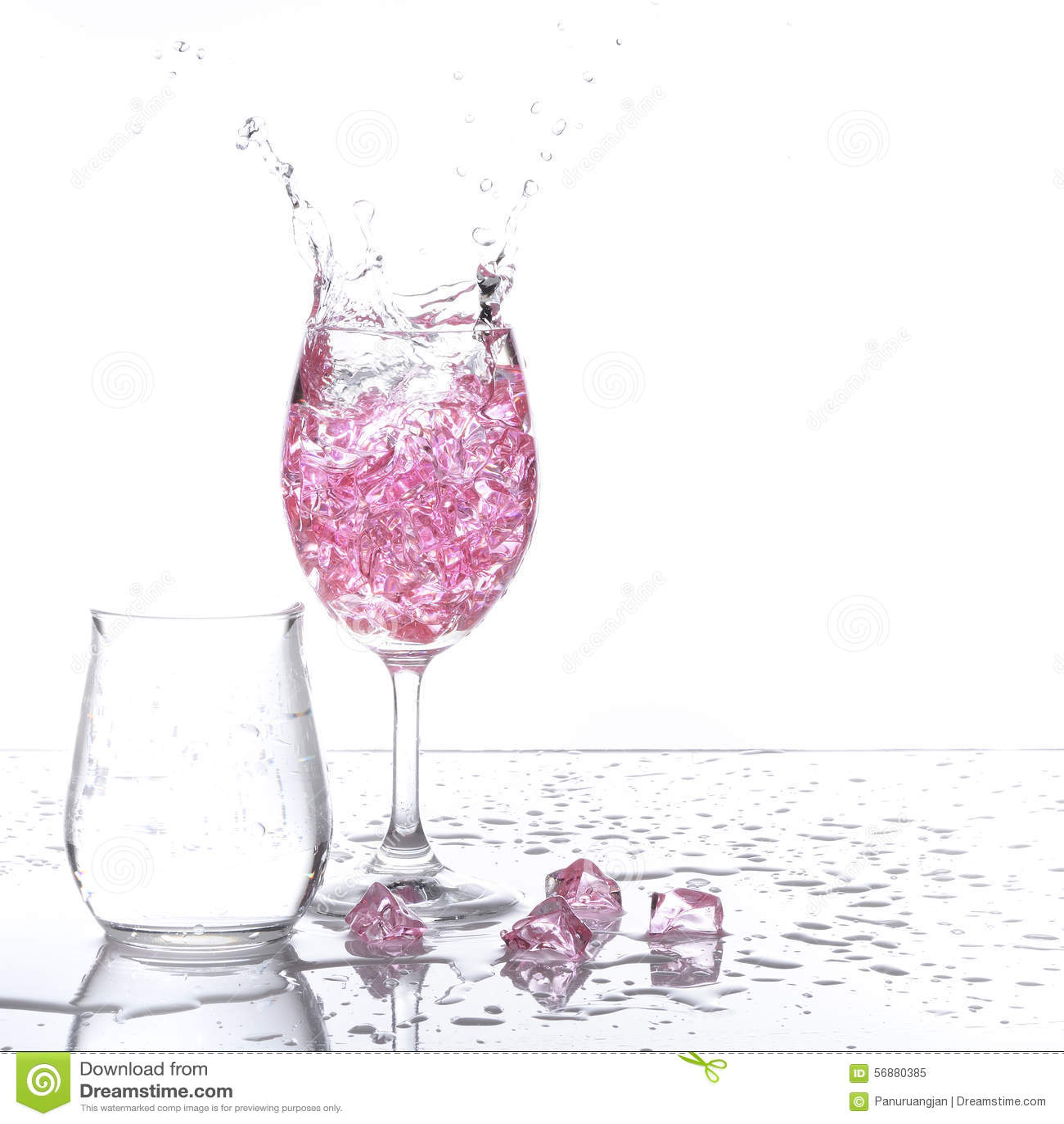 Spruzzatura del champagne