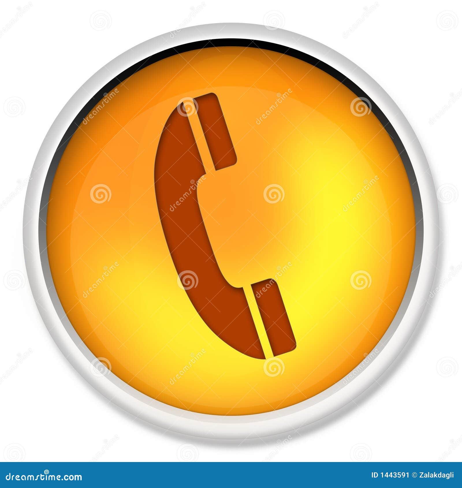 Sprzęt elektroniczny guzik kablowych telefon biurowy ikony telekomunikacyjnych telefon