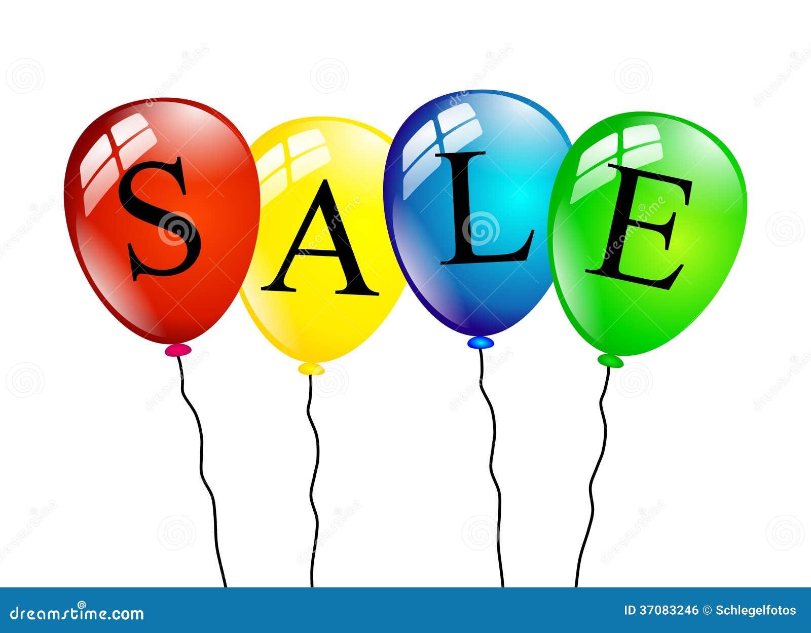 Download Sprzedaż Balony Odizolowywający Ilustracji - Ilustracja złożonej z zakupy, rabat: 37083246