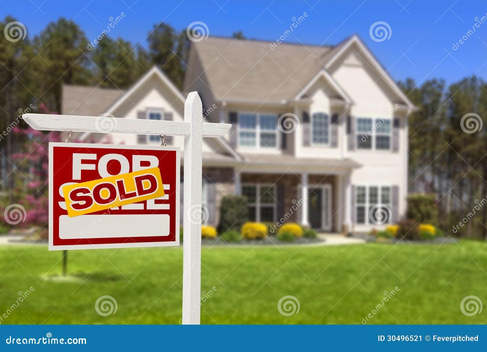 Sprzedający Do domu Dla sprzedaży Real Estate domu i znaka