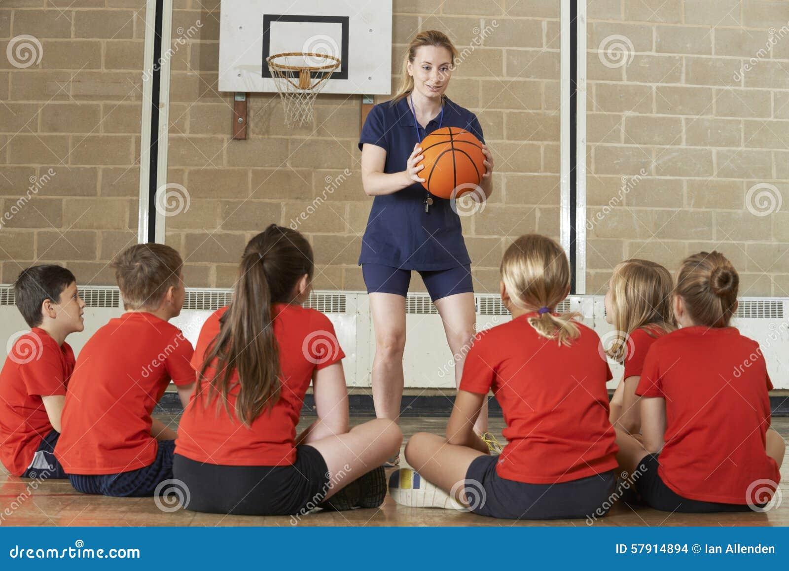 Squadra di pallacanestro di Giving Team Talk To Elementary School della vettura