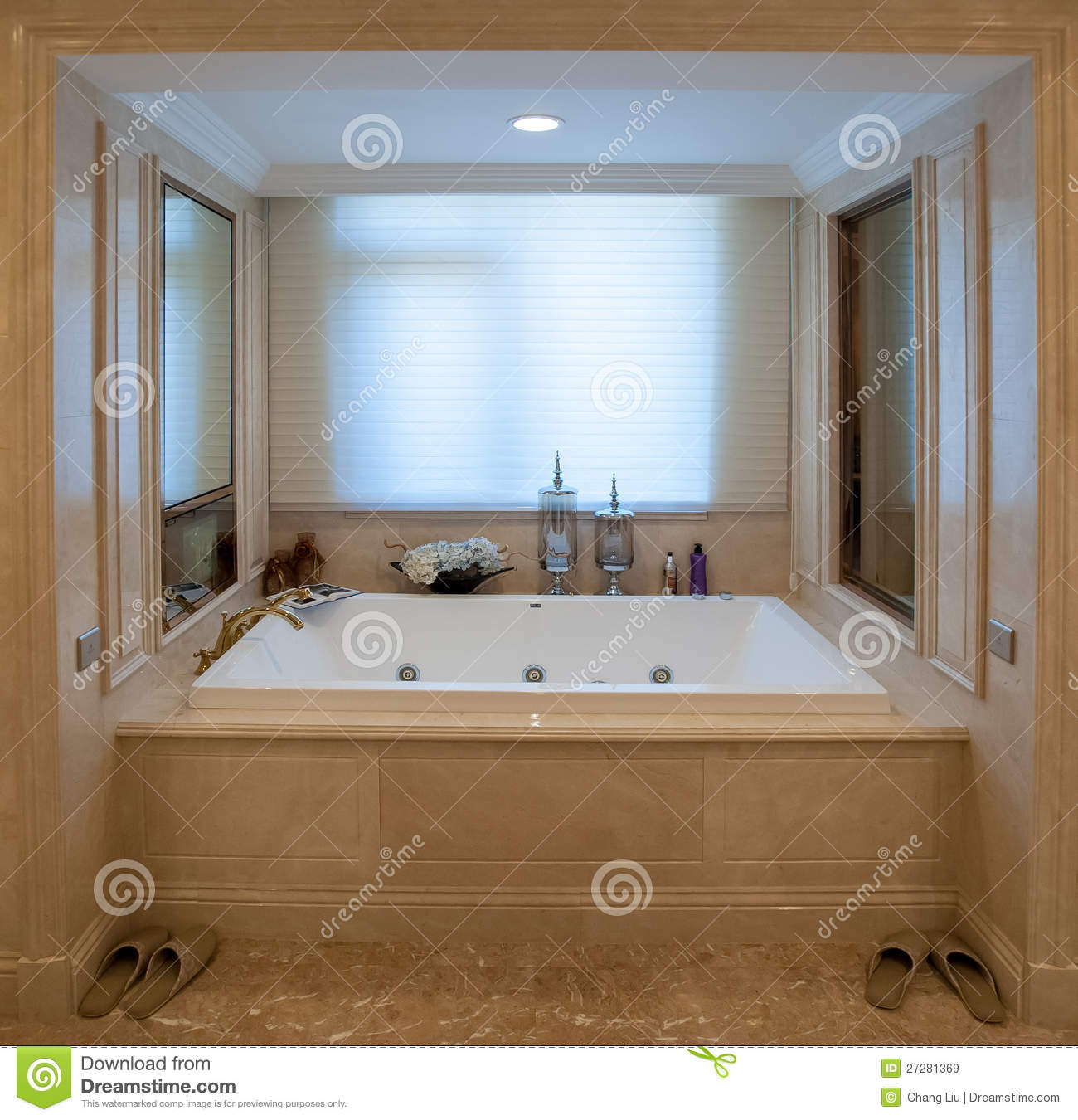 square bathtub royalty free stock images