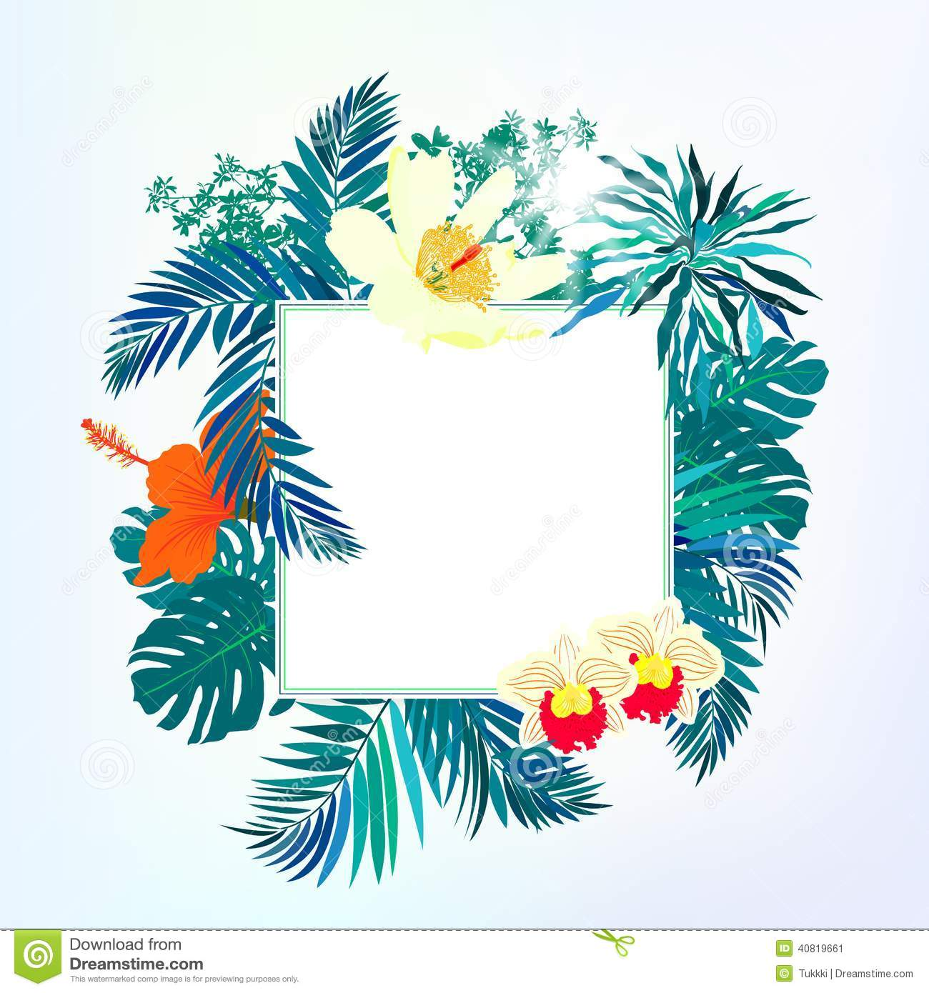 royalty free stock photo - Tropical Decor
