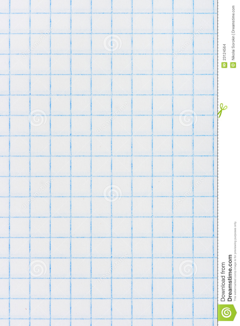 Square Checkered Paper Background Stock Images Image