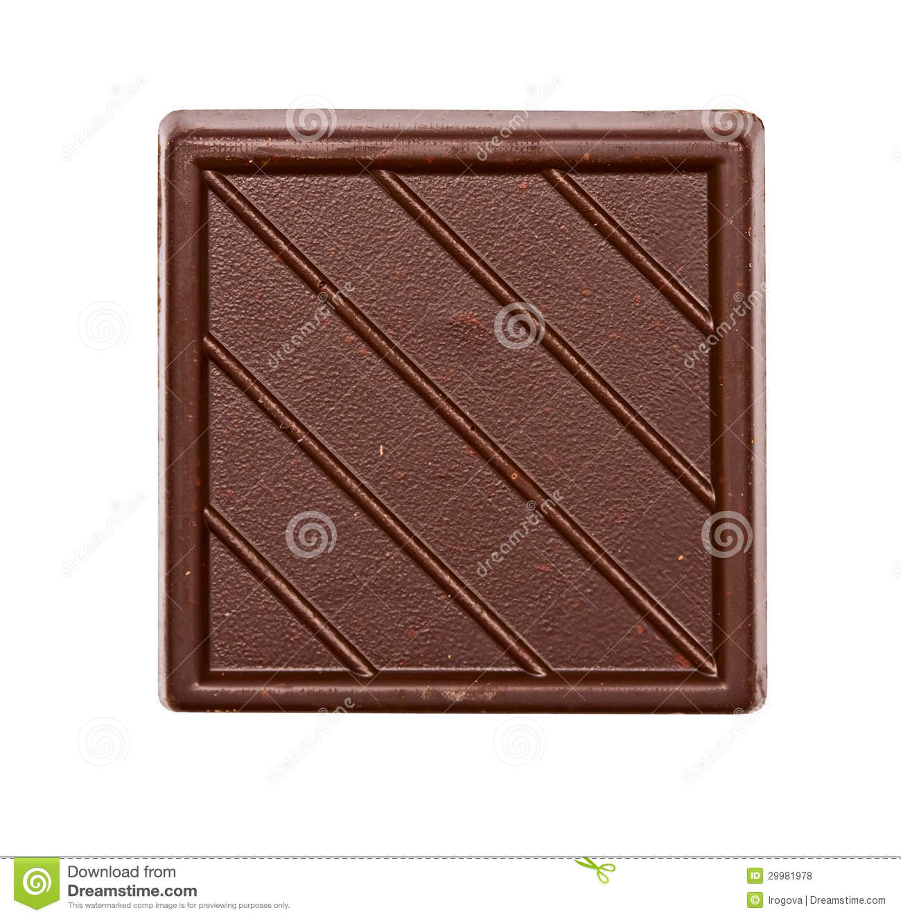 Square Chocolate Royalty Free Stock Photos - Image: 29981978