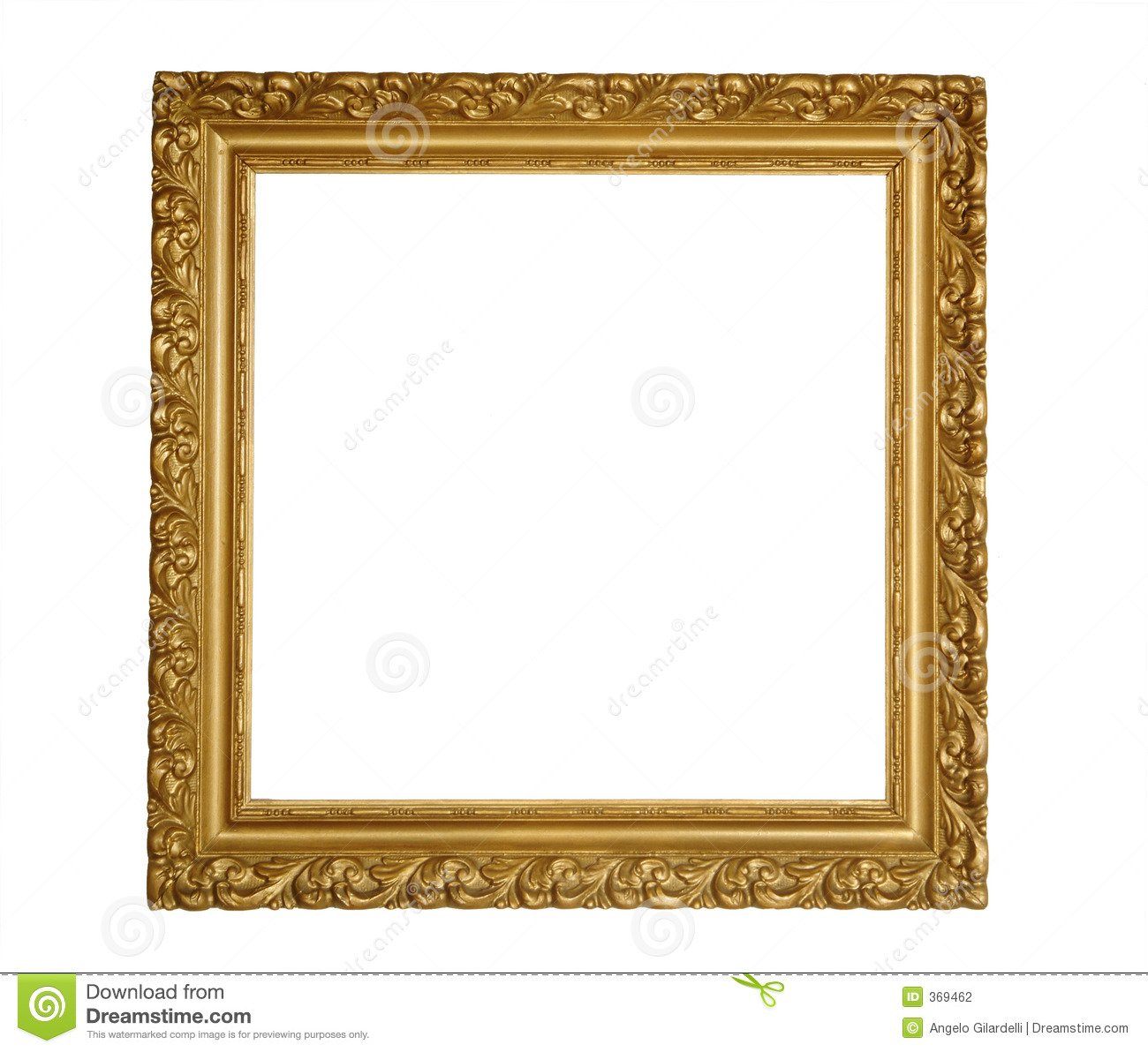 Square Classic Frame Stock Photo Image Of Classic