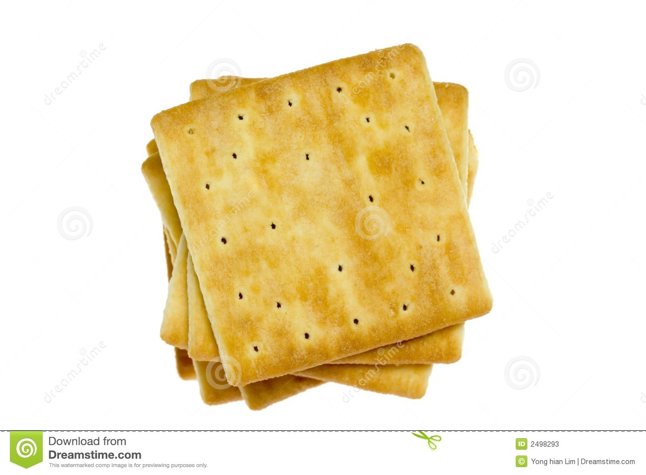 Square Crackers Stock Photos Image 2498293