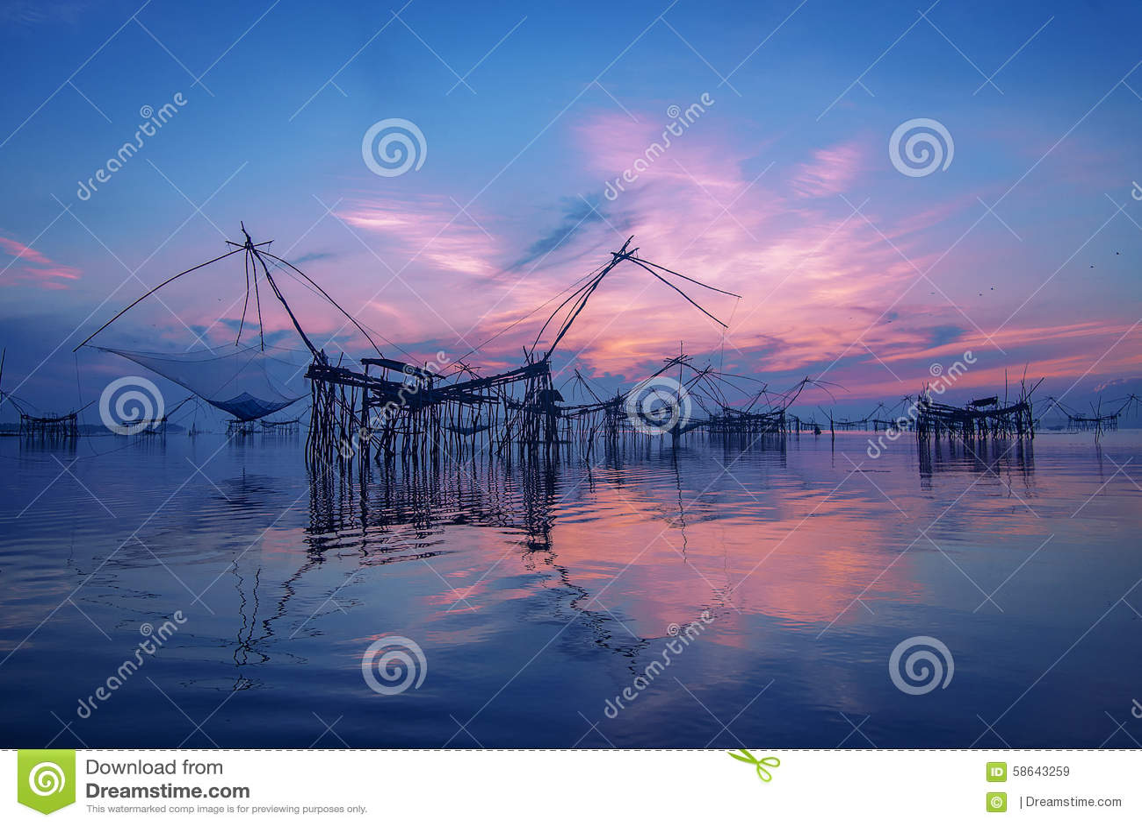 Square dip net stock photo image 58643259 for Fish river tree farm