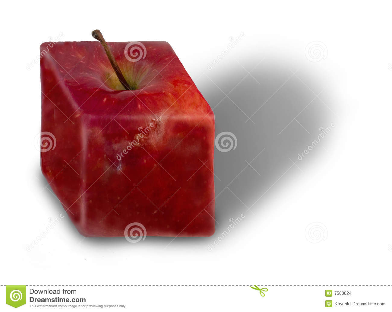 Square Fruit Stock Images - Image: 7500024