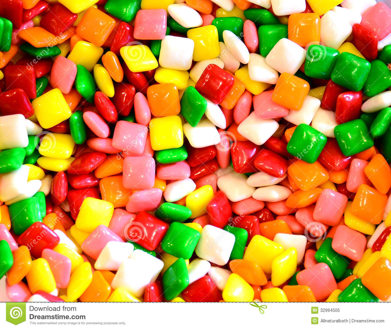 Square Gum Or Candy Background Royalty Free Stock Photo - Image ...