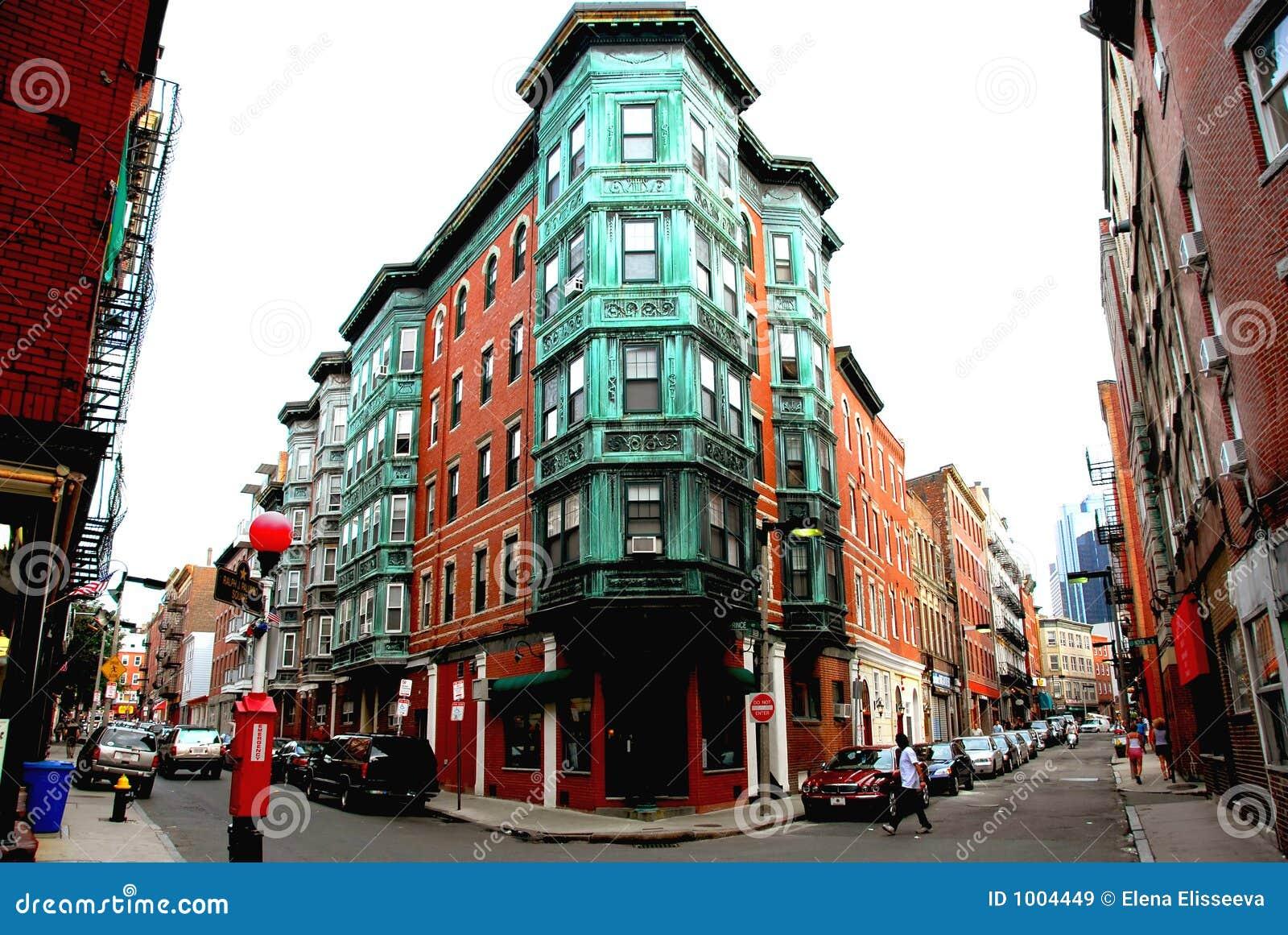 Square in old Boston