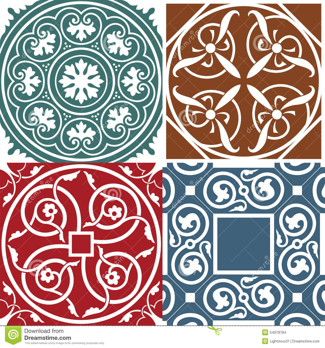 Square patterns(medieval style)