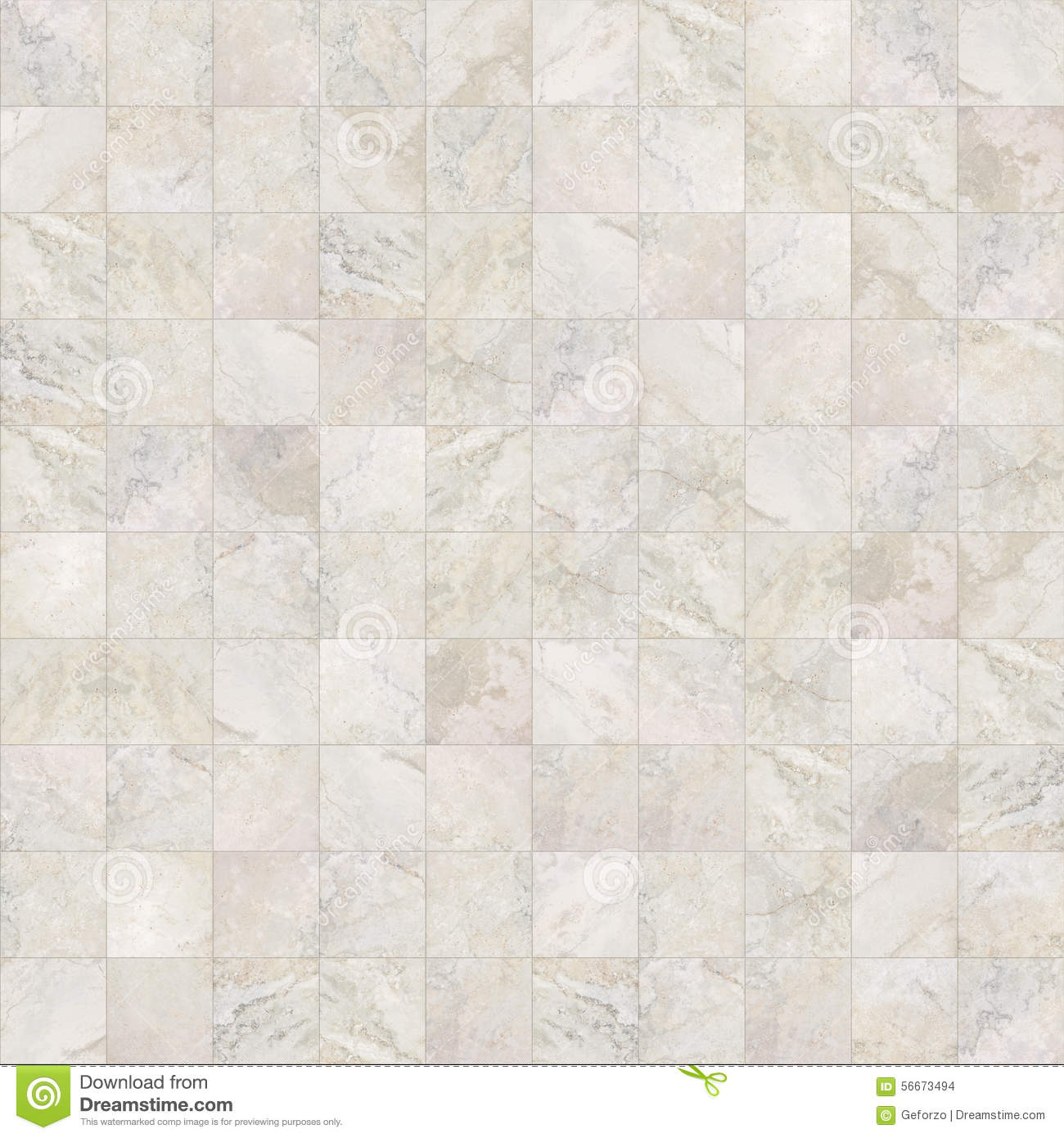Square Seamless Marble Tiles Texture Stock Photo Image