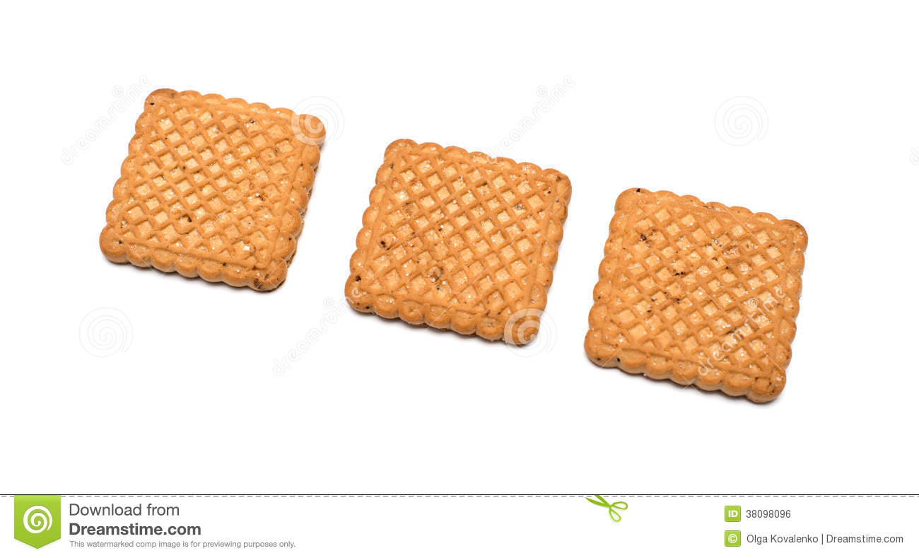 Square Shaped Cookies Royalty Free Stock Image - Image: 38098096