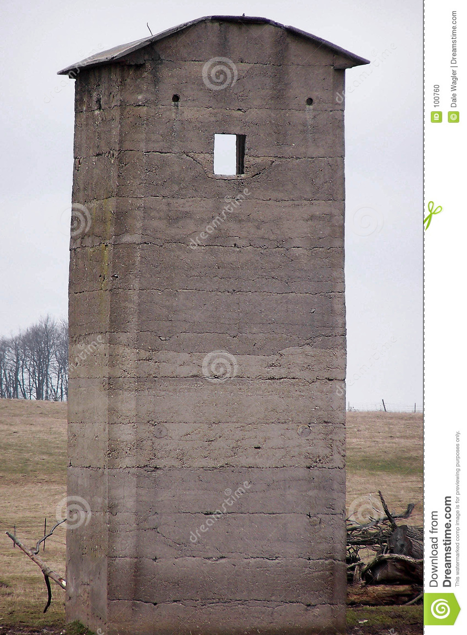 Download Square silo stock photo. Image of concrete, forages, rural - 100760
