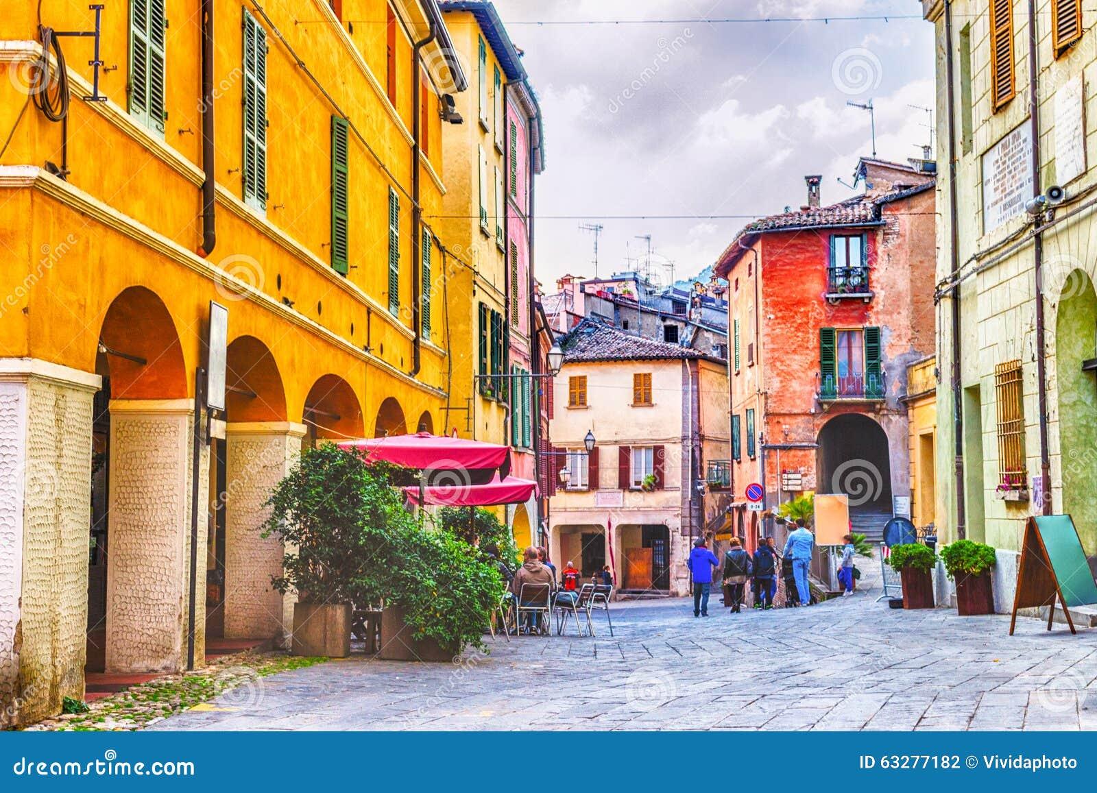 Square Under Donkeys Road In Brisighella Italy Stock Photo Image Of Donkeys Road 63277182