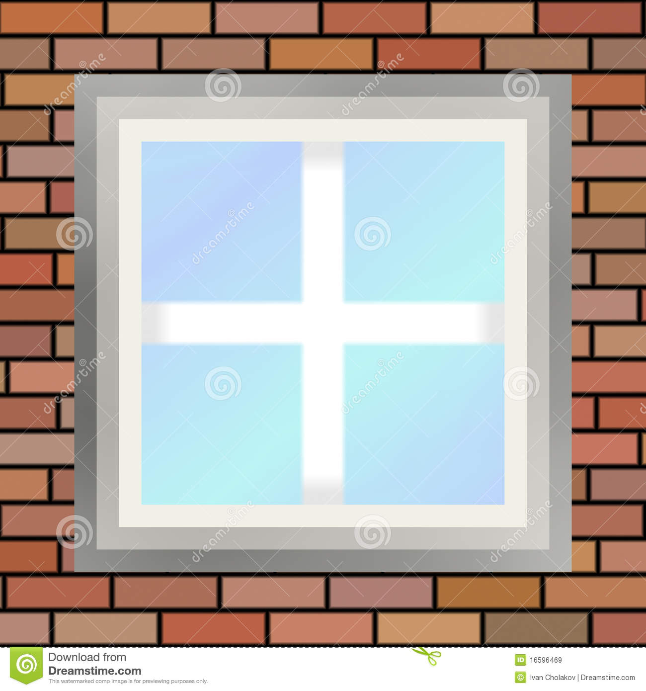Square Window Royalty Free Stock Images - Image: 16596469
