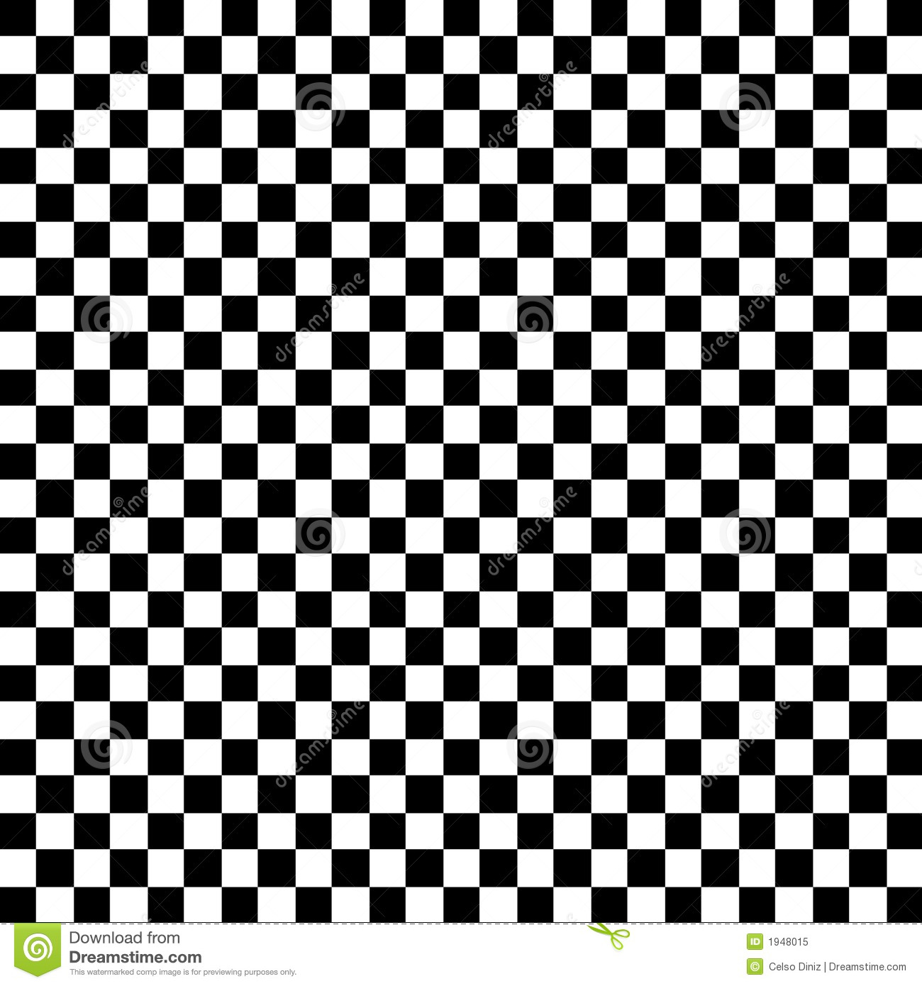 Black And White Check Pattern Royalty Free Stock Photo