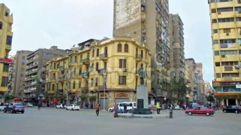 The Squares Of Cairo Downtown Egypt