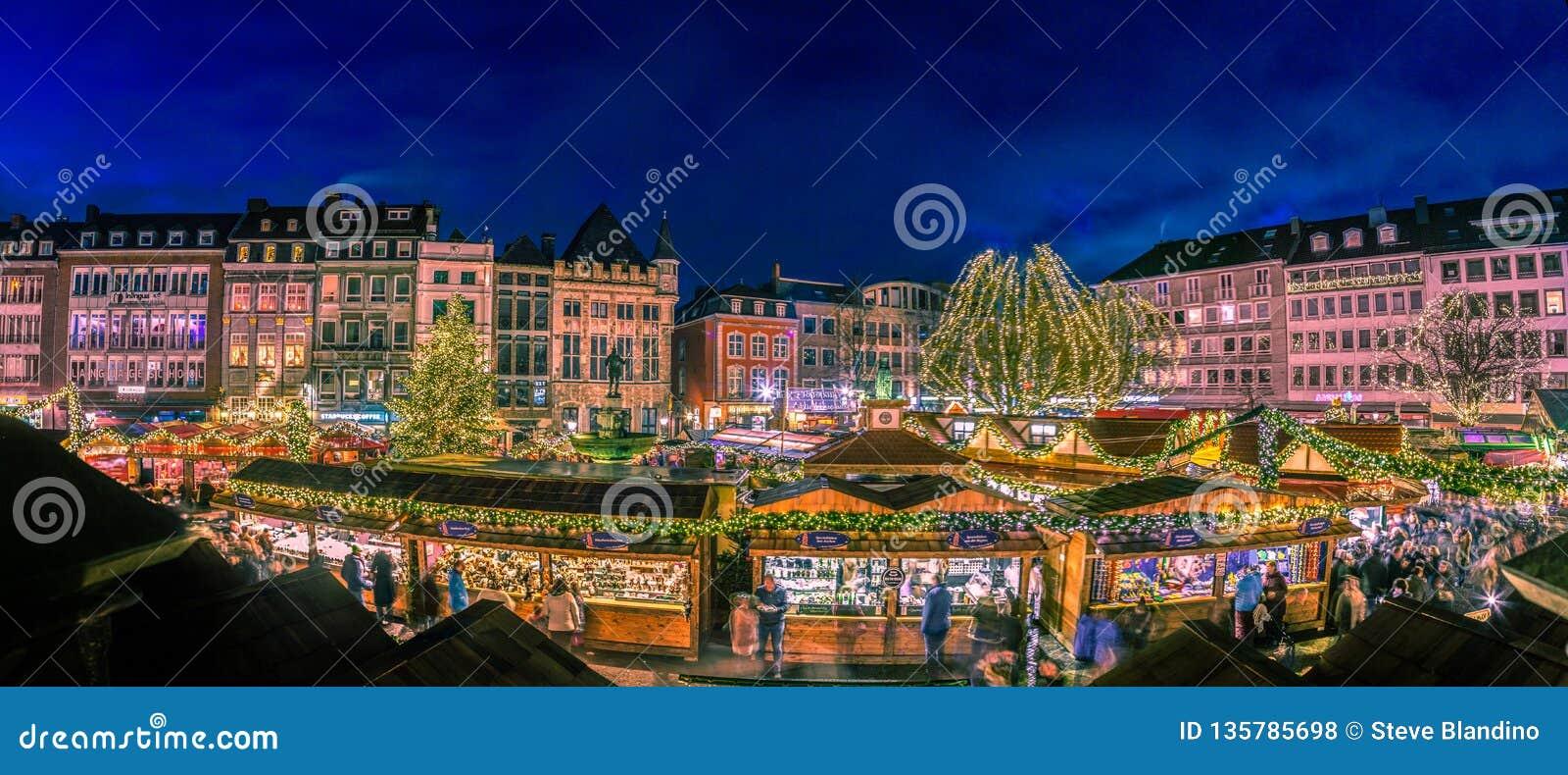 Aachen Christmas village