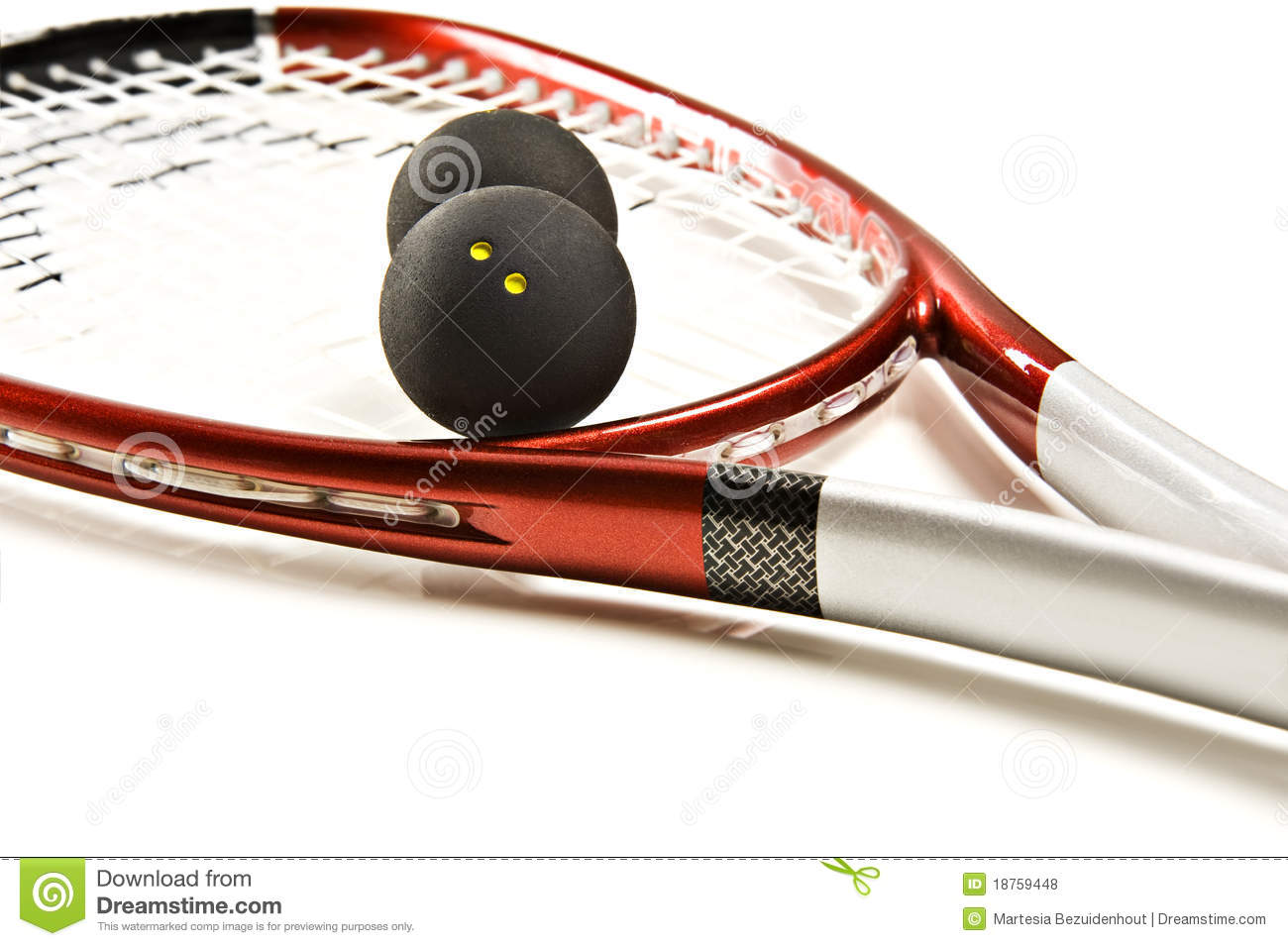 Royalty Free Stock Photos Squash Racket Balls Image18759448 on squash racquets