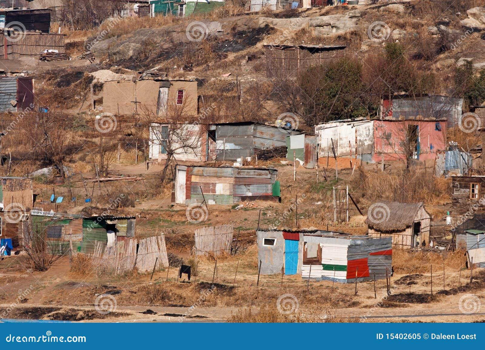 Squatter camp africa