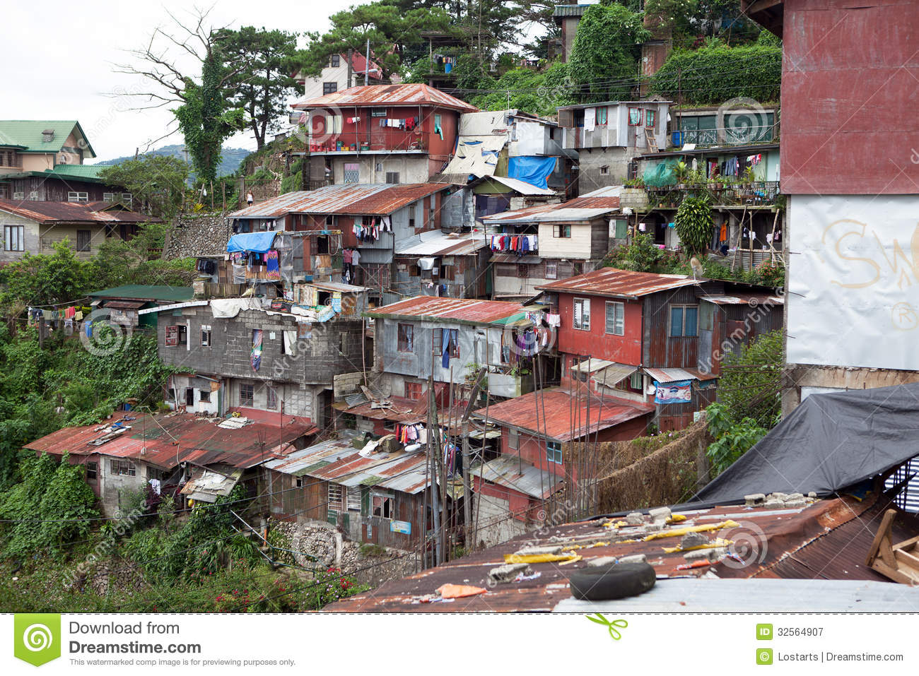 Squatter Homes Editorial Photography Image Of Ghetto
