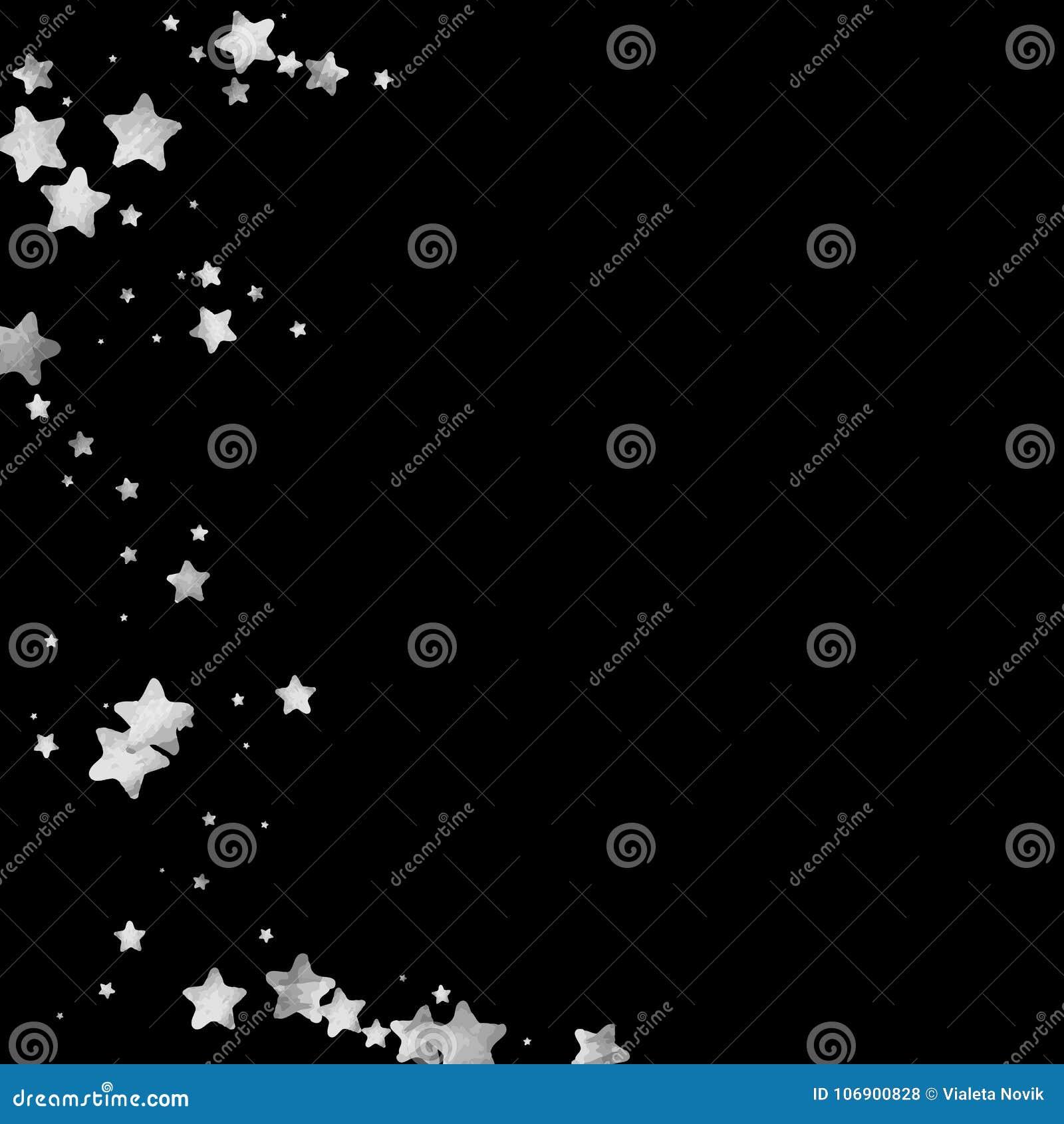 Srebni Gwiazdowi confetti